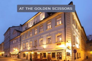 At the Golden Scissors